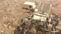 Mars1001 Curiosity Rover